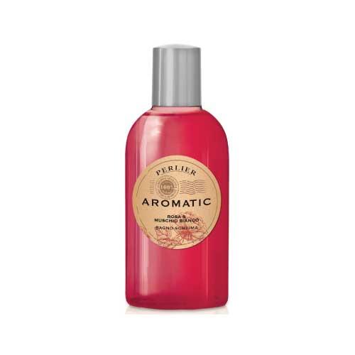 Perlier Aromatic Bagno Schiuma Rosa & Muschio Bianco 500ml