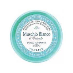Perlier Burro Corpo Muschio Bianco vasetto 200ml