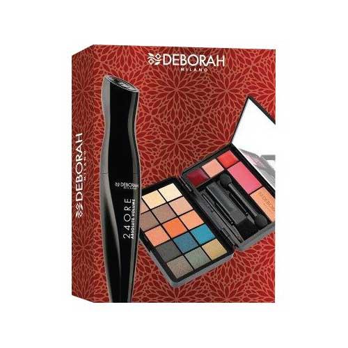Kit Makeup Mini + Mascara Absolute Volume DEBORAH
