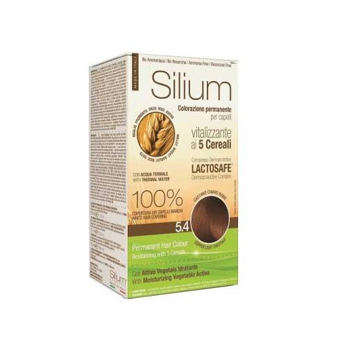Silium Colorazione Permanente ai 5 Cereali 5.4 Castano Chiaro Rame