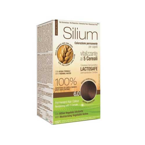 Silium Colorazione Per Capelli ai 5 Cereali 6.0 Biondo Scuro Naturale